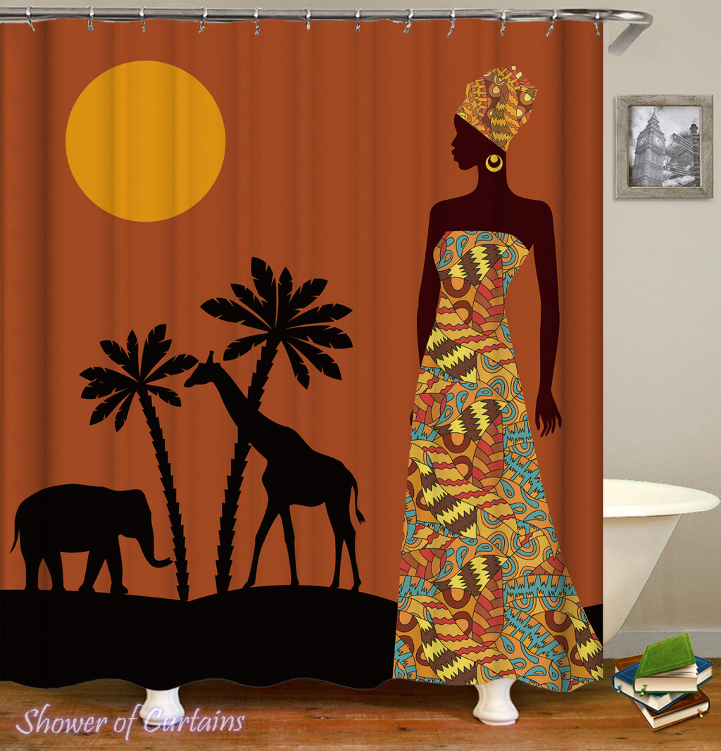 African Shower Curtains - This Is Africa