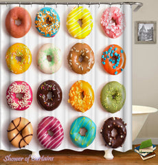 colorful-doughnuts-shower-curtains