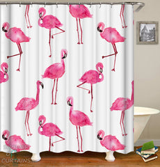 watercolor-flamingo-shower-curtain-pattern