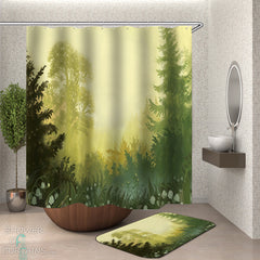 forest-shower-curtain