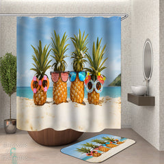 sunglasses-pineapples-at-the-beach-shower-curtain