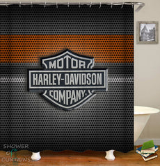 harley-davidson-shower-curtains-steel-logo