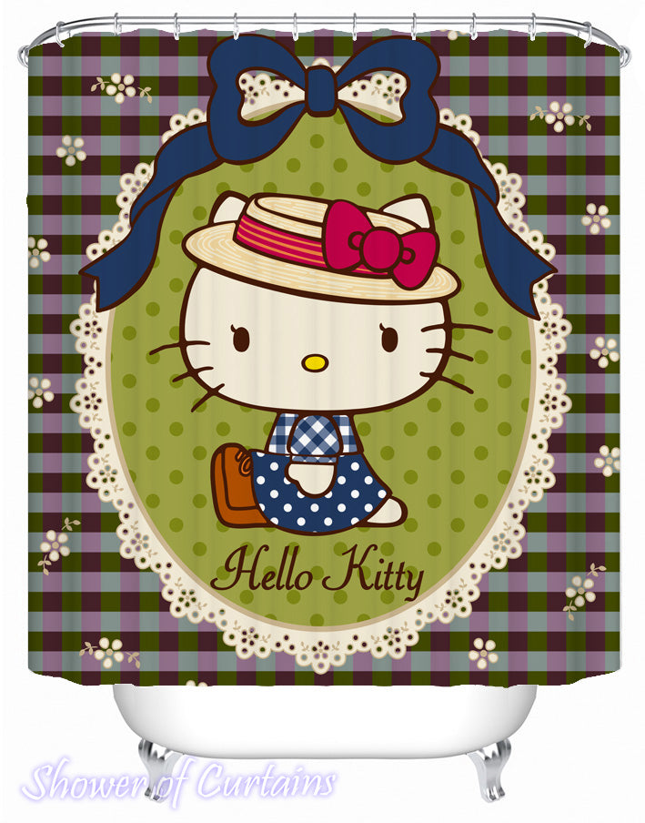 Shower Curtain of Hello Kitty
