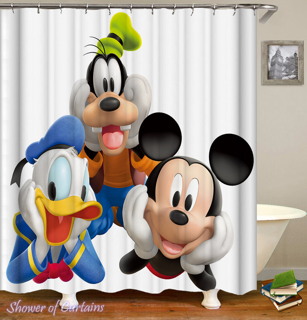 Mickey Mouse Shower Curtain of Mickey Mouse And Friends