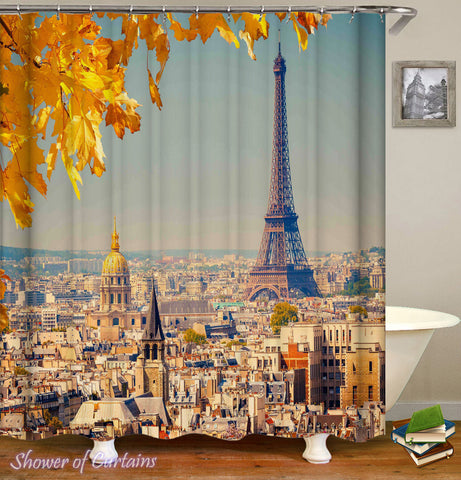 Paris Shower Curtain of Paris' View