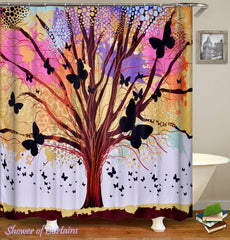 pastel-colors-tree-and-butterflies-shower-curtain