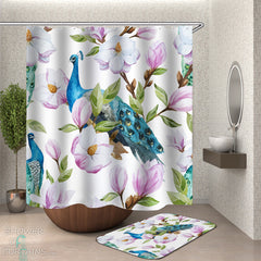turquoise-peacock-and-flowers-shower-curtain