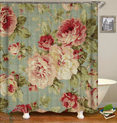 shabby-chic-floral-shower-curtain