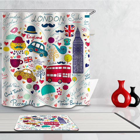 Shower Curtain of London