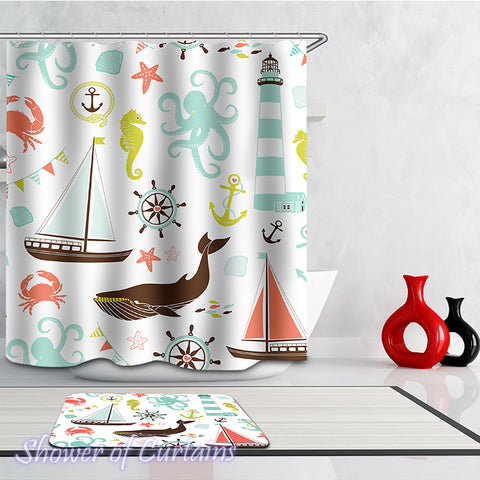 Shower Curtain of Port items