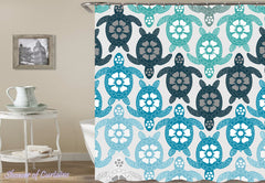 turquoise-coloured-sea-turtles-shower-curtains