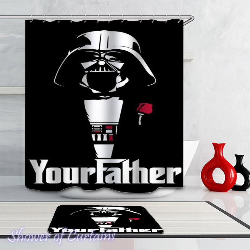 Star Wars Themed Shower Curtains