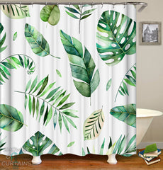 modest-green-shower-curtains-vibes