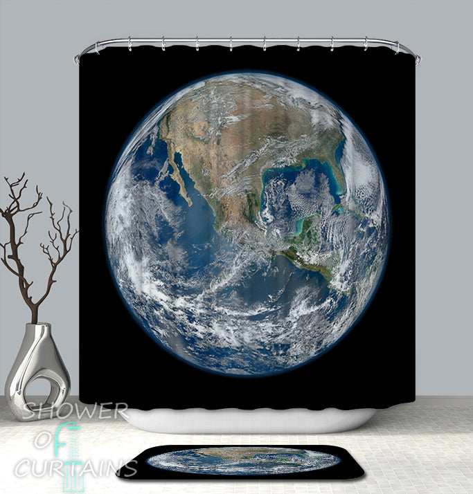 Unique Shower Curtains of Planet Earth