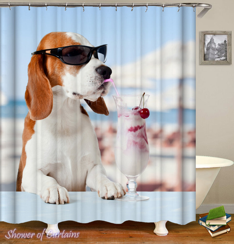 Dog Shower Curtain Collection Shower Of Curtains