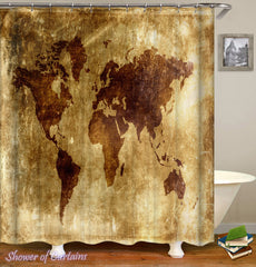 old-leather-sheet-world-map-shower-curtain