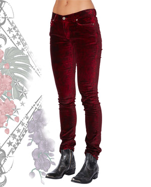 WOODSTOCK PANTS CHILLI RED