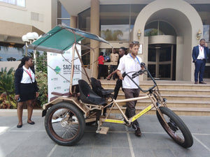 Electric Fat Bike Rickshaw for hire in WINDHOEK