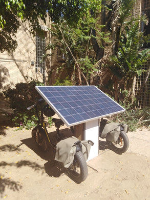 Solar Recharge Station for E-Bikes