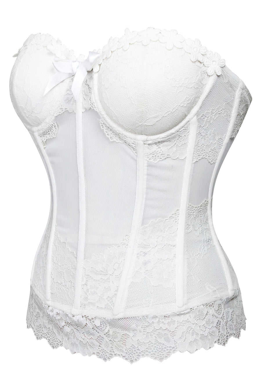 Low Back Bridal Corset Top