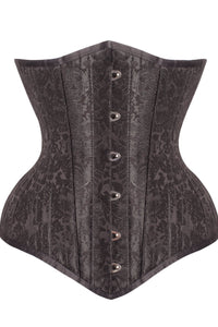 Corset Underbust Waist Training Noir Beautiful – Bustier