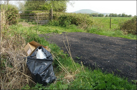 The illegality of cannabis is causing our countryside to be trashed.