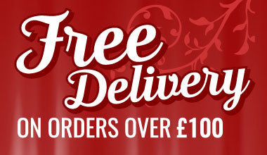 Free delivery on all orders over £100.