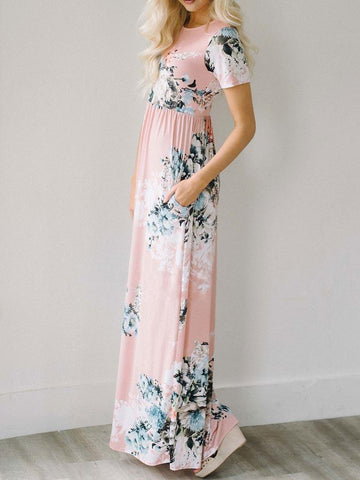 Call Me Ravishing Pink Maxi Dress