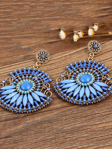 Fashion Bohemia Retro Earrings
