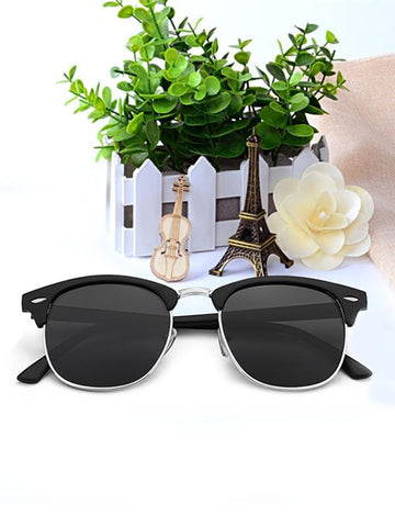 Two Pieces Amazing Ultra-violet Ray Intercepting Big Structure Polarized Sunglasses