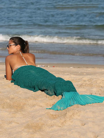 Sea-maiden Knittting Beach Mat Accessories