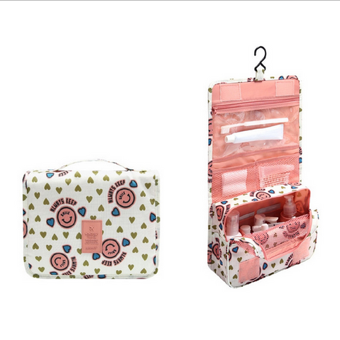 Travel Journey Organizer Run Wild Waterproof Cosmetic Pouch