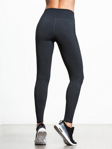 Black Hollow Sports Yoga Leggings Bottoms