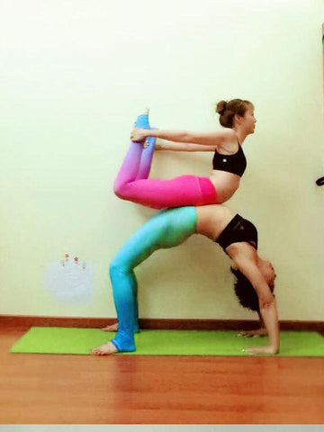 Colorful Sports Yoga Leggings Bottoms