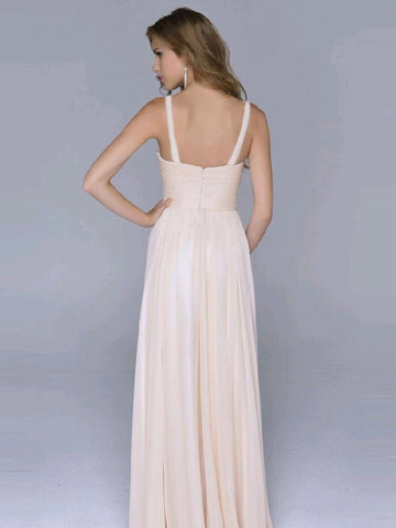Sequined Halterneck Backless Evening Dress