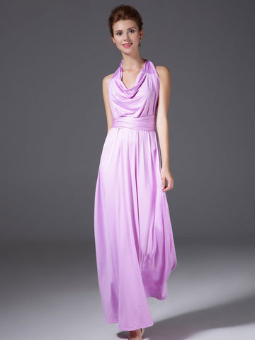 Beautiful Multiple Wear Method Maxi Dress Evening Dress
