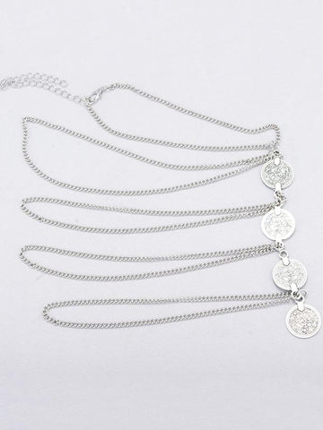 Bohemia Multilayer Coin Arm Chain Accessories