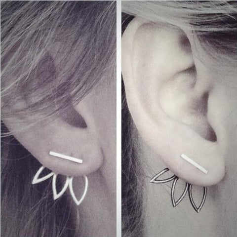 Fashion Casual Silver Earrings