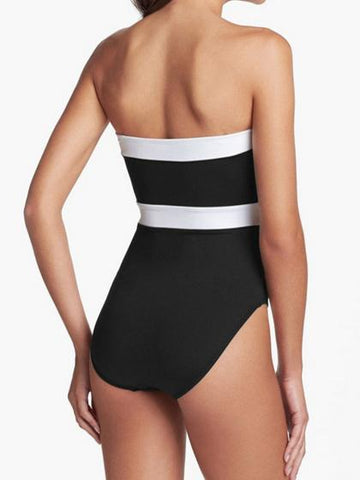 Holiday Mono Push Up One Piece Bikini