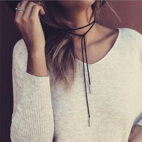 Leather Simple Necklace