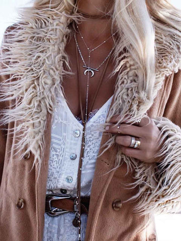 Fashion Simple Tassel Coin Clavicalis Necklaces Accessories