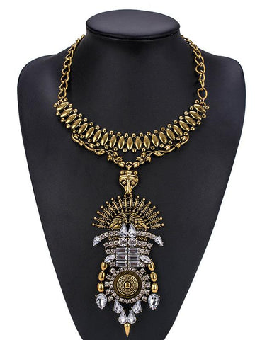 Punk Exaggeration Collar Necklaces Accessories