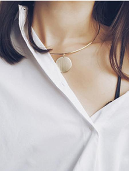 Fashion Paillette Clavicle Necklaces Accessories
