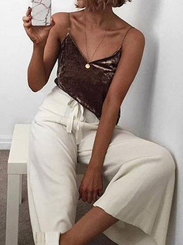 Sexy Comfortable Deep V Neck Top Camisole