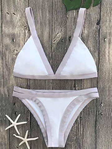 Ecstatic Sexy Two Pieces Swimsuit Bikini Set
