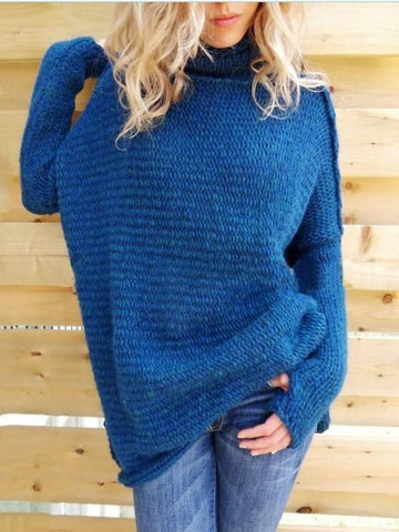 8 Color Loose Knitting Sweater Tops
