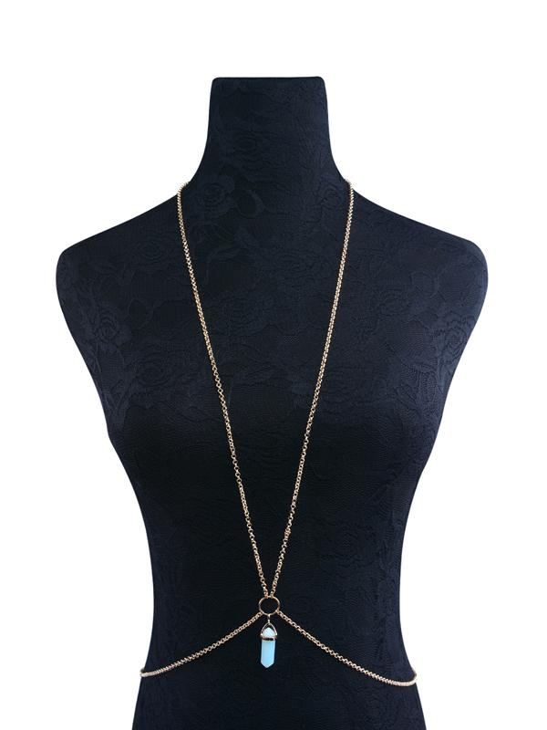 Bohemia Crystal Body Chain Accessories