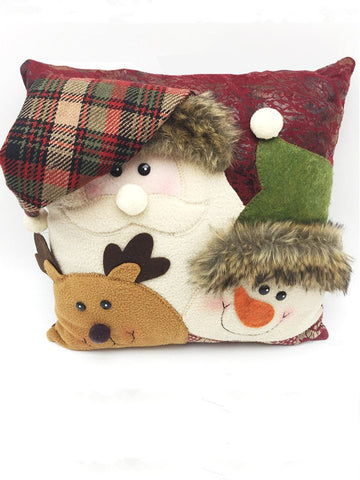 Lovely Christmas Throw Pillow Decoration Accessories