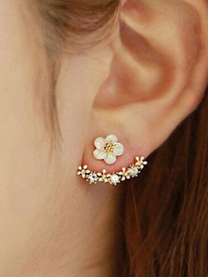 Fashion Casual High Quality Flower Earrings