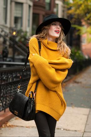 Streetstyle  Casual Winter Warm Turtleneck Knitted Sweater